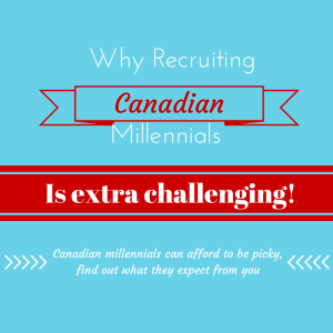 Recruiting Canadian Millennials: A Game of Expectations