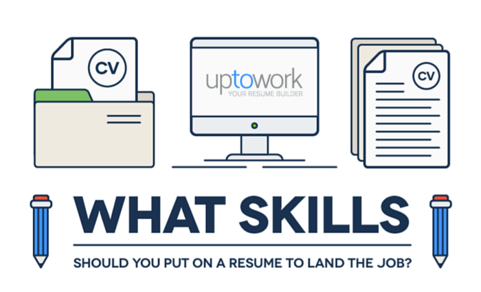 skills to put on resume infographic - What Skills To Put On A Resume