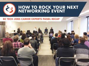 Rock Your Next Networking Event: Career Experts Panel Recap