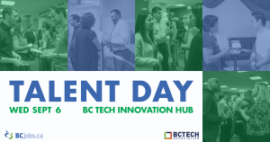 Talent Day: Meet these tech companies on Sept 6th!