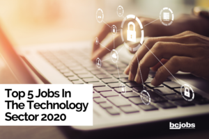 Top 5 Jobs in The Technology Sector 2020