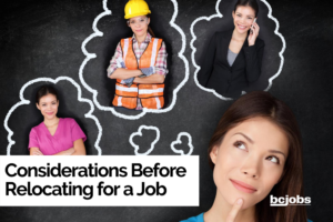 Considerations Before Relocating for a Job